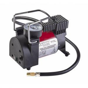 Compresor auto 120W, 12V, 35L/min, Raider, RD-AC05