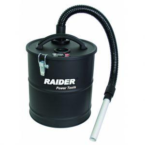 Container metalic pentru aspirare cenusa 18 L cu filtru HEPA, Raider