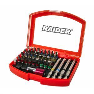 Set 42 biti si suport magnetic 1/4'' Raider, 158902
