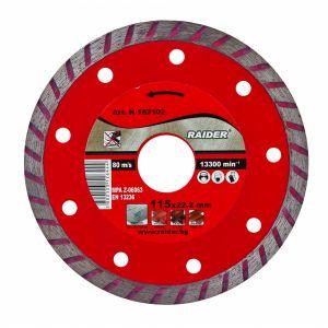 Discuri diamantate Turbo 22.2X2MM, Raider