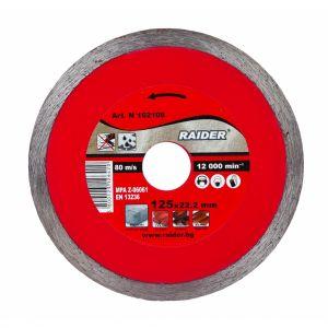 Disc diamantat continuu WET 110X20X2MM, Raider, 162123