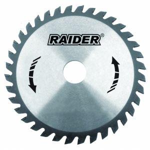 Panza circular 125X22.2X2.5MM 40T, Raider, 163131