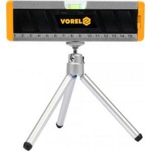 Mini nivela cu laser si trepied, 10 m maxim, Vorel, 17560