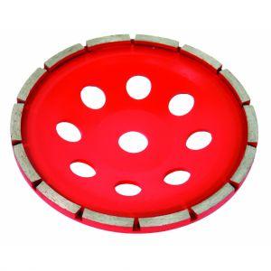 Disc oala pentru slefuit beton 180X22.2MM, Raider, 209932