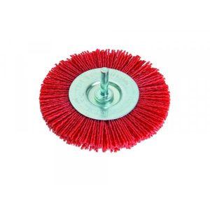 Perie circulara cu tija 100MM, nylon, Festa, 21937