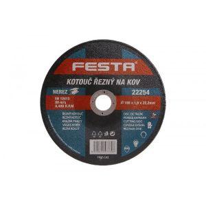Disc metal 180X1.6X22.2MM, Festa, 22254