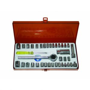 "Trusa tubulare 1/4"", 3/8"" 4-16MM, 40 bucati Gadget, 330552"