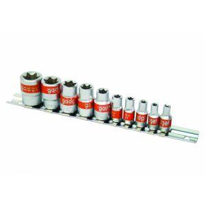 "Trusa tubulare Torx 1/4"", 3/8"", 10 bucati CR-V, Gadget, 330561"