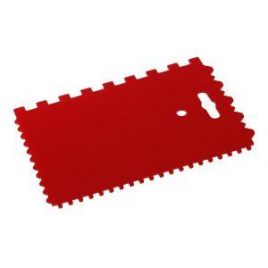 Spaclu din plastic cu dinti 170X115MM, Festa, 37111