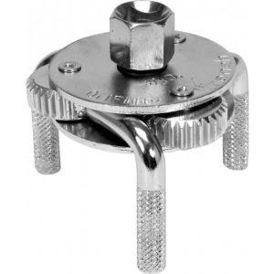 Cheie filtru ulei 3 brate, 65-110 mm, Vorel 57600