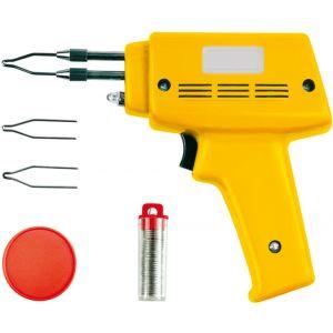 Pistol de lipit cu fludor + accesorii, 100W, Vorel, 79351