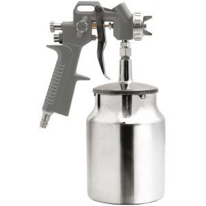 Pistol de vopsit pneumatic cu rezervorul jos, 1000ml, 3.5-5bar, Vorel, 81617