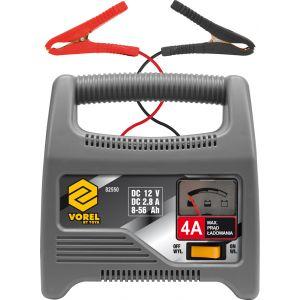 Redresor baterie auto 12V, 4A, 56Ah, Vorel, 82550
