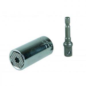 "Cap tubulara universal 7-19MM, 3/8"" + adaptor 3/8""-1/4"", Festa, 17810"