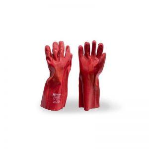 Manusi rosii lungi din cauciuc, 35CM, Micul Fermier, GF-0383