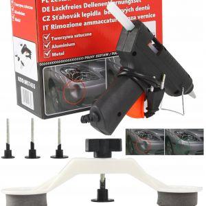 Kit reparatii caroserii auto + pistol silicon Mar-Pol EBN57455