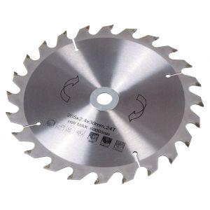 Panza circulara pentru lemn 200x30/16 x2.4 mm, 24 dinti, Ferm MSA1021