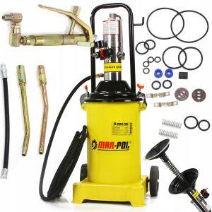 Pompa de gresat pneumatica 12 litri ,gresor pneumatic Mar-Pol EBN78059
