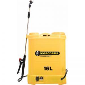Pompa de stropit manuala vermorel cu acumulator 16 L, 8Ah, 12V, Gospodarul Profesionist, PMP0061