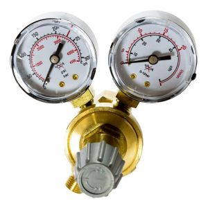 Reductor presiune AR/CO2 cu 2 manometre Intensiv - 54051