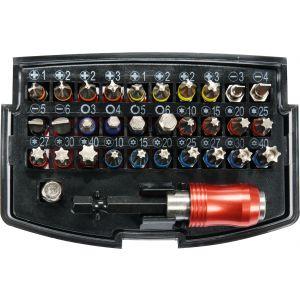 Trusa biti cu adaptor, 32 piese, Yato, YT-04622