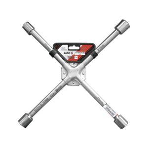 Cheie pentru roti tip cruce , 17x19x21x22 mm, Yato, YT-0800