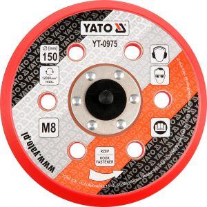Talpa pentru masina slefuit pneumatica, 150 mm, 12.000 rpm, Yato, YT-0975